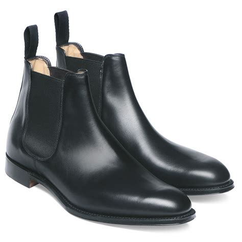 chelsea boots cheaney threadneedle s black chelsea boot made in
