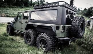 Jeep Jeep Firm Reveals 6x6 Jeep Wrangler The Tomahawk