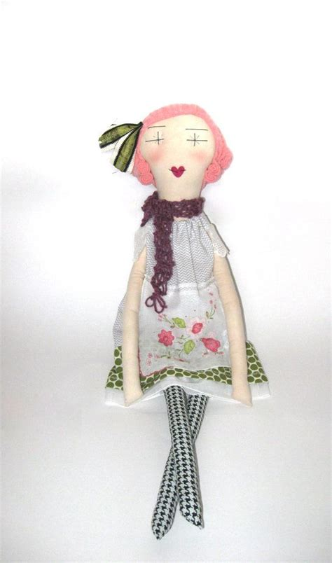 Dolls Handmade - esme handmade rag doll soft cloth doll 24 inches eco