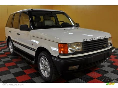 white and gold range rover 1997 white gold land rover range rover hse 47767416