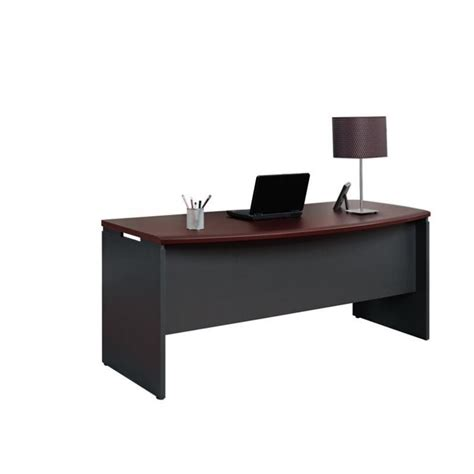 new executive desk cherry finish computer desk home office furniture workstation table