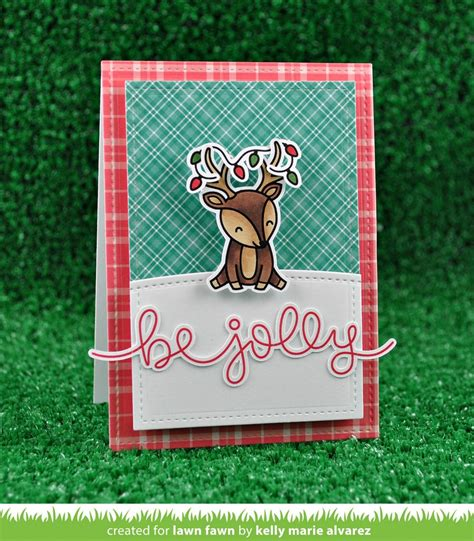 lawn fawn clear sts cheery christmas