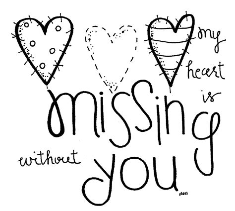 printable coloring pages miss you printable coloring miss you cards card printable images
