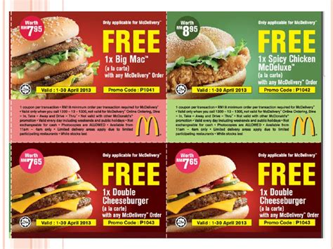 printable grocery coupons uk 2016 from where i am kuala lumpur mcdonald s vouchers