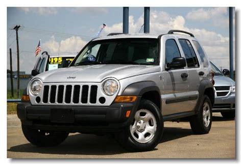 silver jeep liberty 2007 123 tx auto inventory