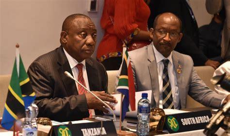 president ramaphosa  ethiopia  au summit africanbrains