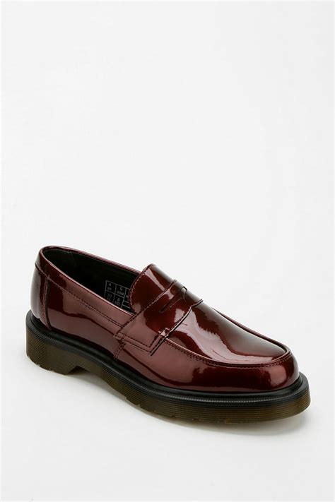 dr martens loafers outfitters dr martens abby patent loafer in lyst
