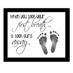 Quotes about babies footprints memes