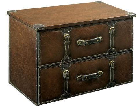 Steamer Trunk With Drawers by Leather Steamer Trunk With Drawers