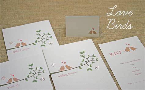 birds wedding invitations uk wedding stationery handmade lovebirds birds