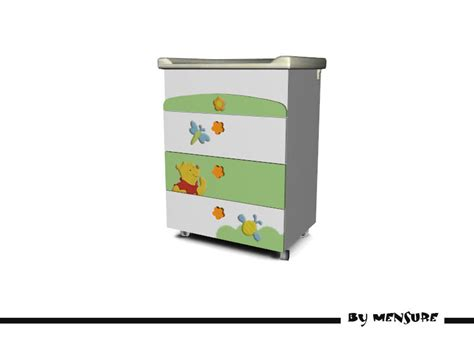Winnie The Pooh Changing Table Mensure S Winnie The Pooh Nursery Changing Table Dresser