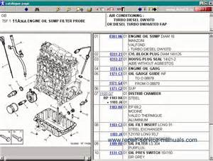 Peugeot 307 Parts Catalogue Peugeot 307 Repair Manual