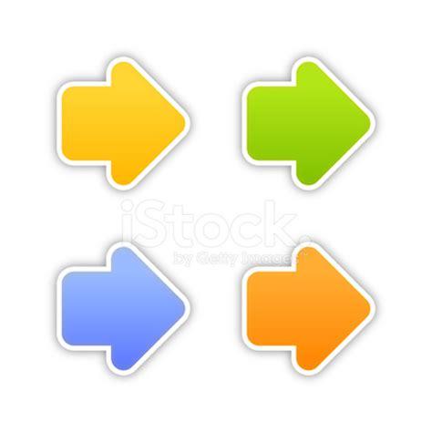 arrow label color sticker satin arrow label color sticker satin icon web button gray