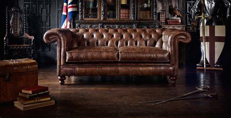 Bookcase And Desk Chesterfield Sofas And Armchairs