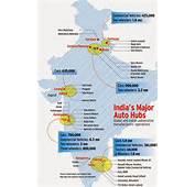 Management Punditz List Of Automotive Plants In India
