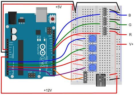 arduino transistor led driver arduino mosfet when powering an led electrical engineering stack exchange