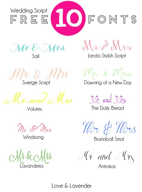 Wedding Card Fonts by 10 Free Fonts For Your Wedding Invitation