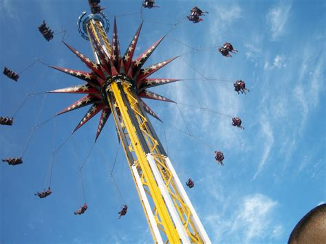 six flags over texas swing ride skyscreamer wikiwand