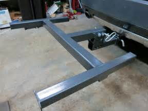 roof rack use on trailer hitch mtbr