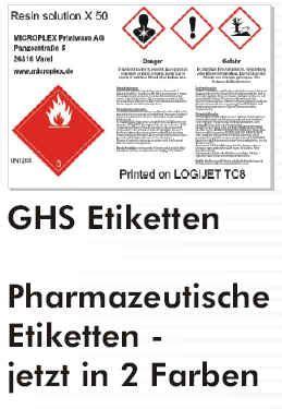 Aufkleber Drucken Mit Laserdrucker by Gefahrstoff Aufkleber Drucker Etikettendrucker De