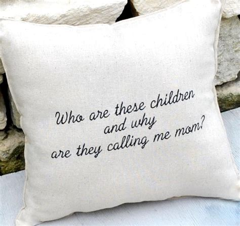 Pillows For Mothers by S Day Gift Pillow Quote By Yellowbugboutique