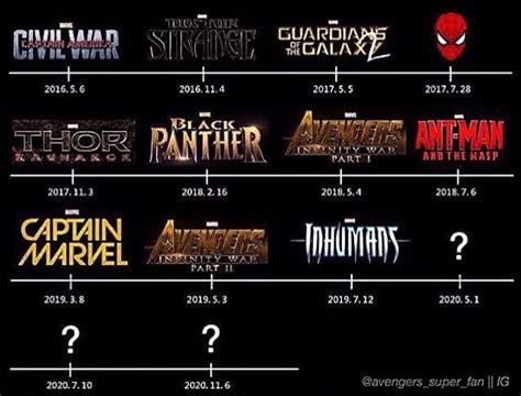 marvel film new releases marvel future release movie list superheroes pinterest