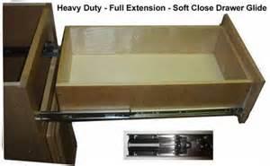 Side mount soft close drawer glide rta kitchen cabinets