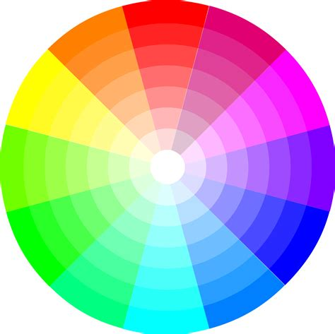 what colors go together clipart color wheel 12x7