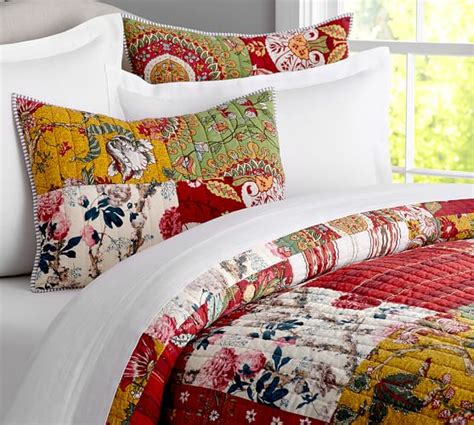 Potterybarn Quilts by Floral Patchwork Quilt Sham Pottery Barn