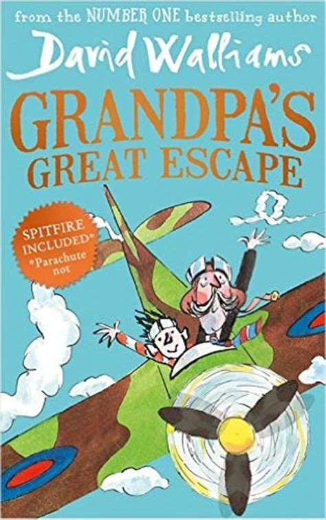 s great escape by david walliams writing ie