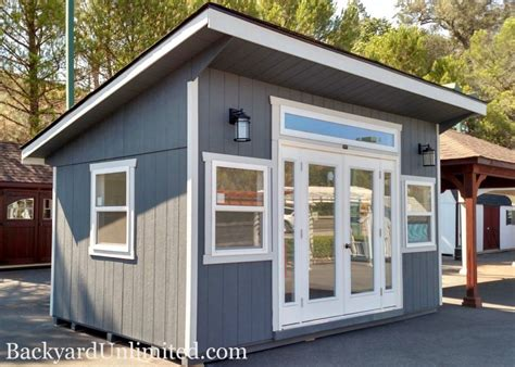 backyard shed house backyard unlimited offers tiny adaptable amish built