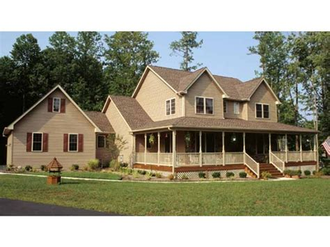 country farm house plans country feel emphasized hwbdo09212 farmhouse home plans