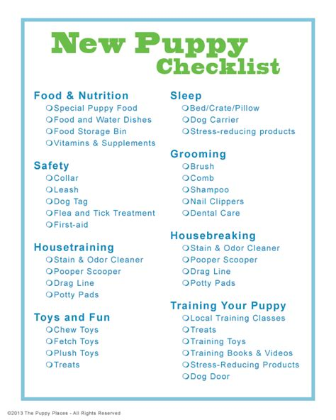 your new puppy why do dogs eat new puppy checklist
