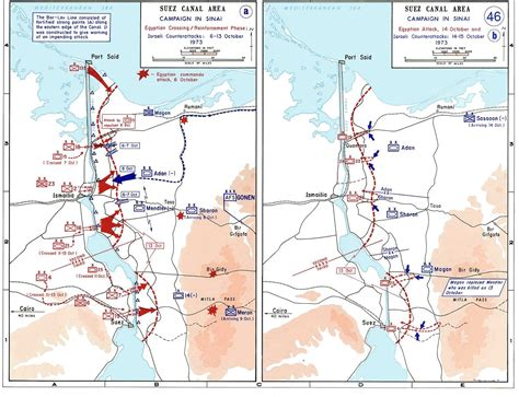 maps of war file 1973 sinai war maps jpg wikimedia commons
