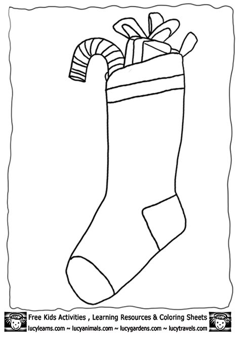 xmas templates for pages christmas stocking templates coloring home