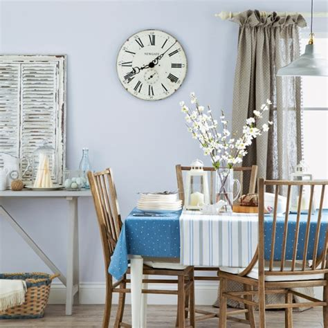 Light Blue Dining Room Pale Blue Country Dining Room Dining Room Decoration Housetohome Co Uk