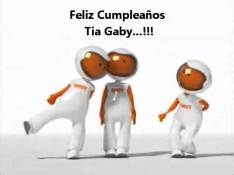 imagenes feliz cumpleaños gaby feliz cumplea 241 os tia gaby youtube