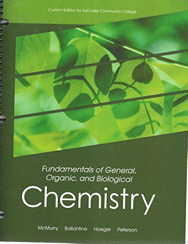 fundamentals of organic chemistry 7th edition fundamentals of general organic and biological chemistry