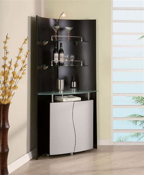 Kitchen Cabinet Materials Useful And Cool Mini Bar Cabinet Ideas For Your Kicthen