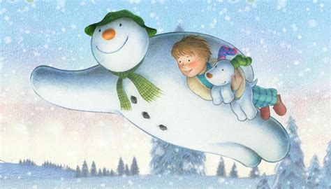 the snowman and the snowdog tv the atkinsonthe atkinson a new traditional quot snowman quot for channel 4