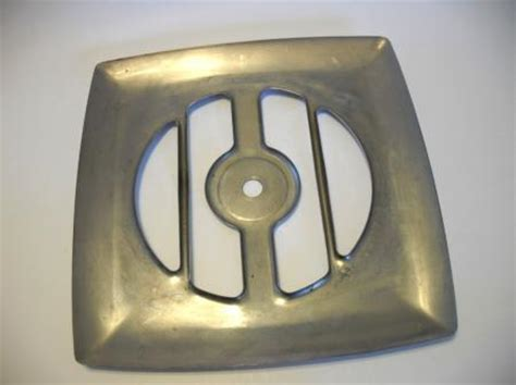 rv kitchen exhaust fan vintage chrome exhaust fan grill vent cover kitchen