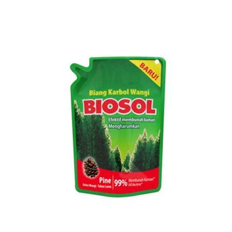 Karbol Pembersih Lantai Mentimun Biosol Karbol Pembersih Lantai Pouch 400 Ml