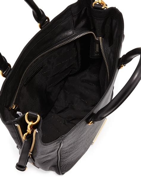 Marc Washed Leather Purse by Marc By Marc Washed Up Leather Tote Bag In Black Lyst