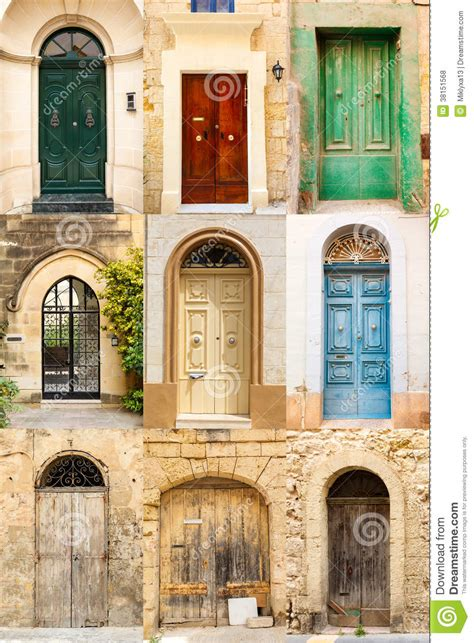 colorful doors collage stock photo image 41305174 collage of 9 colourful colored front doors stock photo