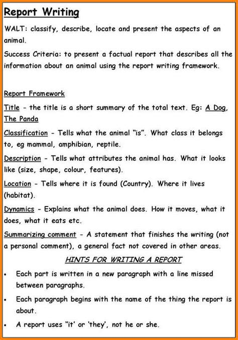 tag report writing report writing exles
