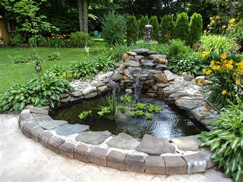 ponds for backyard backyard and pond project redo it yourself inspirations