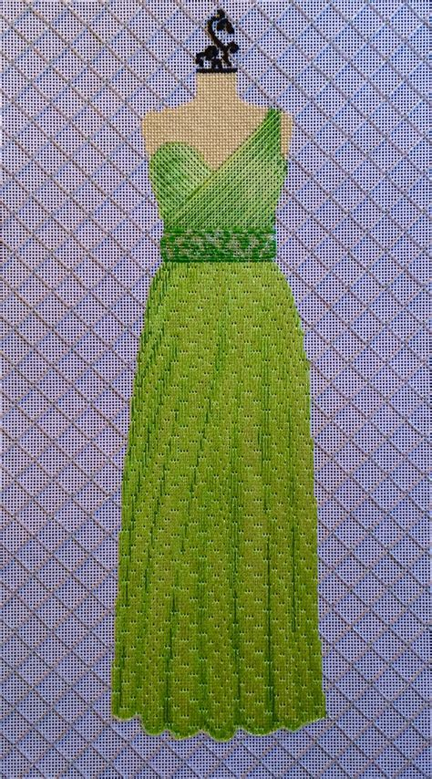 blue murder gown of green stitch guides kits the enriched stitch