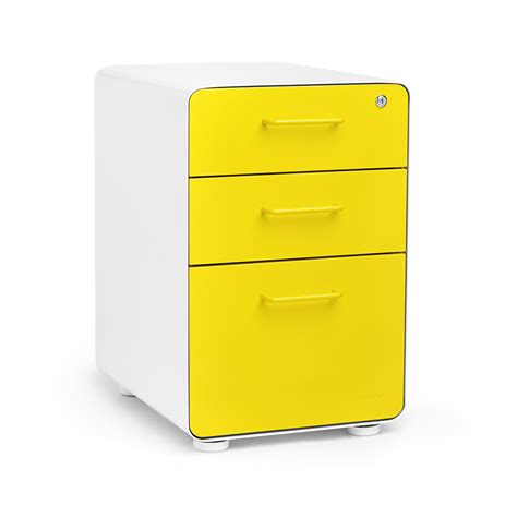 Yellow Filing Cabinet Poppin File Cabinet Bar Cabinet