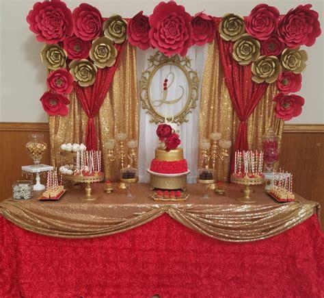 17  Best Red Quinceanera Decorations   weddingtopia