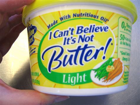 i can t believe it s not butter